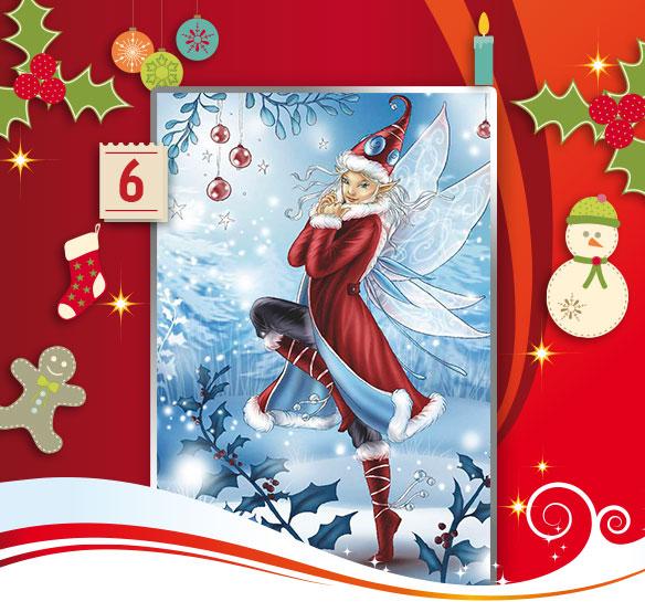 Adventskalender CALVENDO Elfen-Kalender