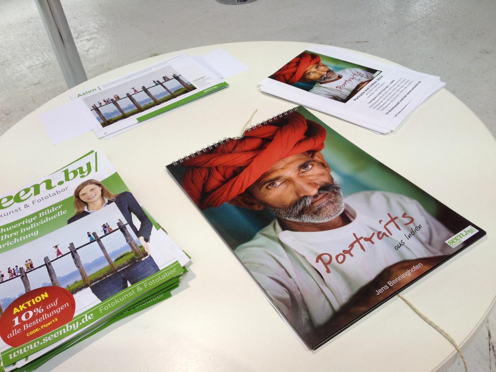 "Jens Benninghofens aktueller Kalender ""Portraits aus Indien"""