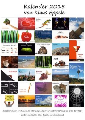 Kalender-Postkarte