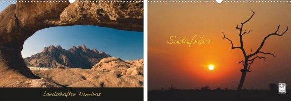 Namibia und Südafrika Kalender