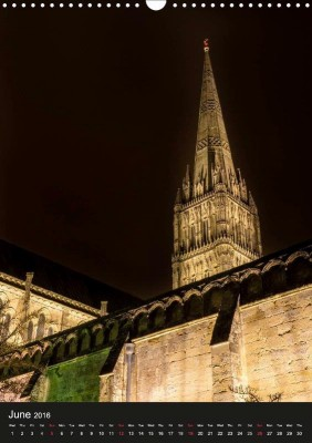 "Standing out: ""Views of Salisbury Cathedral"""