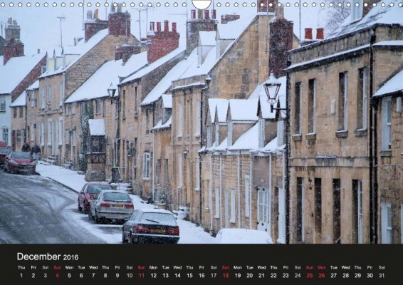 From Jon's 'Cotswold Cottages' calendar
