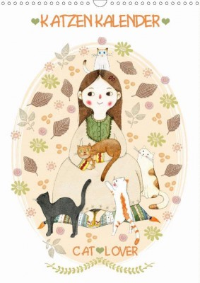 Loske_Katzenkalender-Cat-Lover