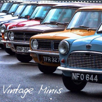 Vintage Minis calendar, by Lucy Antony/Loose Images