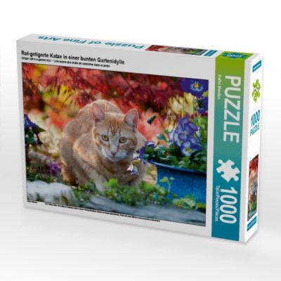 Puzzle mit Katze
