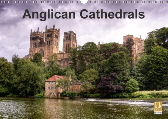 David's Anglican Cathedrals calendar, part of the Calvendo Gold edition