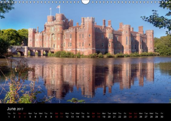 From the Castles of Kent and Sussex calendar
